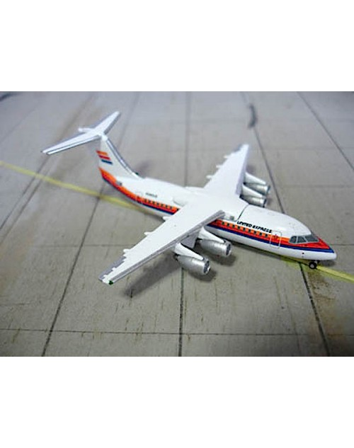 Uniited Express British Aerospace BaE 146-200 N290UE 1/400 scale diecast Jet-X Models