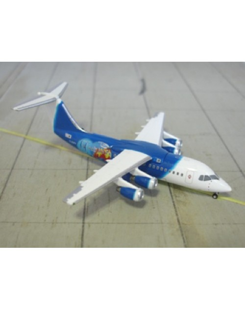 Titan Airways British Aerospace BAe 146-200QC G-ZAPK Blue 1/400 scale diecast Jet-X Models