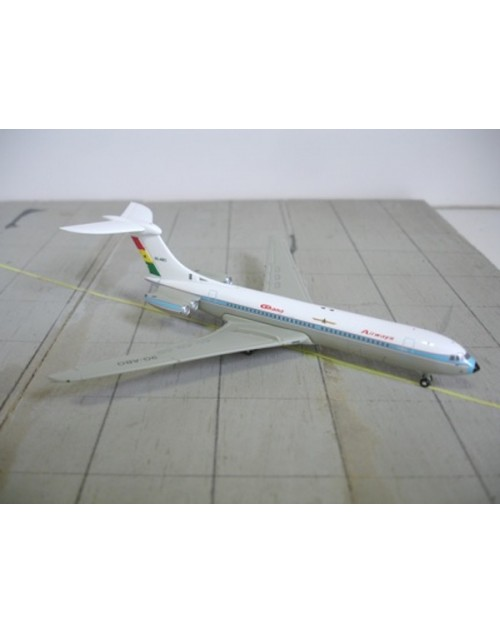 Ghana Airways Vickers VC-10 9G-ABO Small Logo 1/400 scale diecast Jet-X Models