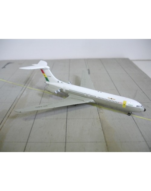 Ghana Airways Vickers VC-10 9G-ABO large Logo 1/400 scale diecast Jet-X Models