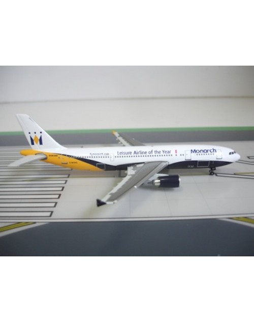Monarch Airbus A300B4-605R G-MONS Leisure Airline of the Year 1/400 scale diecast Jet-X Models