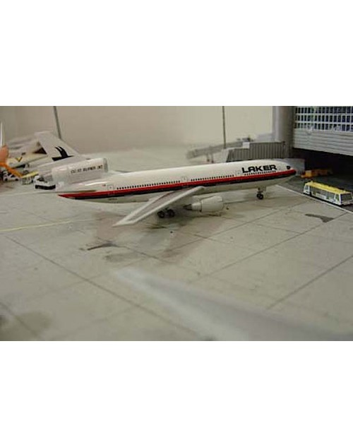 Laker Douglas DC-10-30 N833LA 1/400 scale diecast Jet-X/Dragon Wings Models