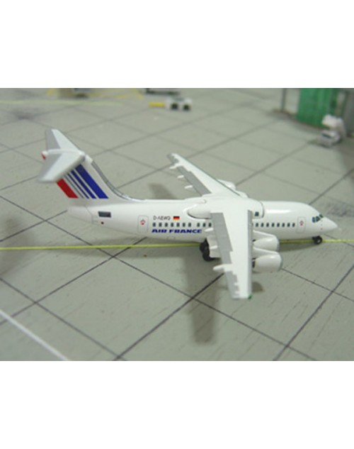 Air France Express British Aerospace BaE 146-200 D-AEWD German Flag 1/400 scale diecast Jet-X Models