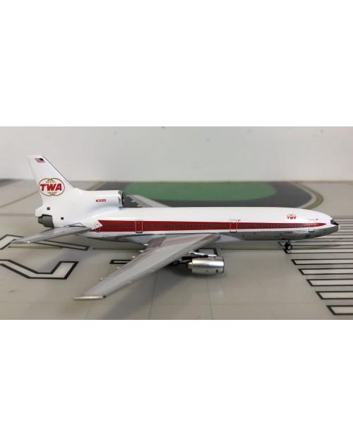 TWA Lockheed L-1011-1 N31001 Twin Globe 1/400 scale diecast Lockness Models