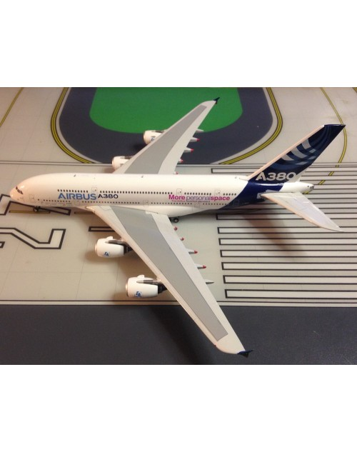 Airbus A380-800 F-WWDD House, More Personal Space 1/400 scale  diecast Phoenix Models