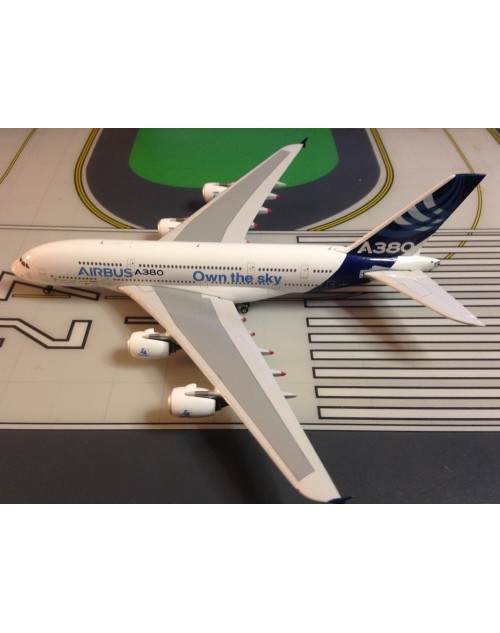 Airbus A380-800 F-WWDD House, Own the Sky 1/400 scale diecast Phoenix Models
