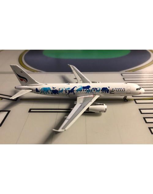 Bangkok Air Airbus A320-232 HS-PPH United Wildlife 1/400 scale diecast Phoenix