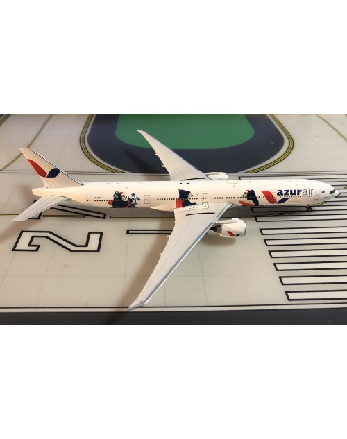 Azur Air Boeing 777-300ER VQ-BZY The Bears 1/400 scale diecast Phoenix Models