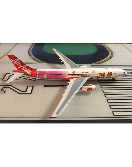 THAI Air Asia Airbus A330-343 HS-XTD Lotte World 1/400 diecast Phoenix Models
