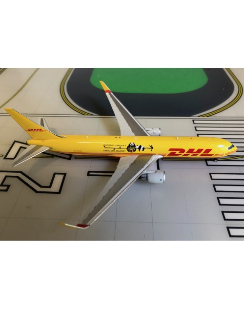 DHL Boeing 767-300/F G-DHLG Pandastic Journey 1/400 scale diecast Phoenix Models