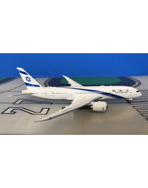 EL AL Boeing 787-8 4X-ERA Current Colors 1/400 scale diecast Phoenix models