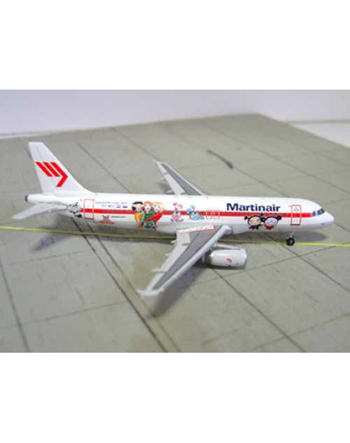 Martinair Airbus A320-232 PH-MPE Jetix Cartoon 1/400 scale diecast Phoenix Models