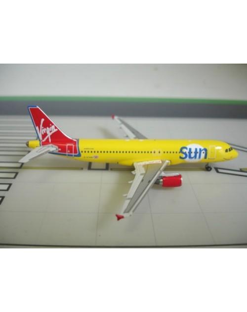 Virgin Sun Airbus A320-214 G-VTAN 1/400 scale diecast Phoenix Models