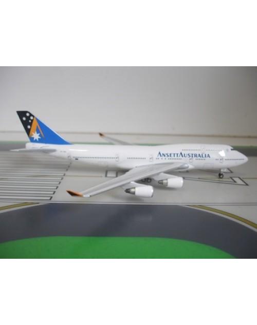 Ansett Australia Boeing 747-412 VH-ANB Star Ship 1/400 scale diecast Phoenix Models