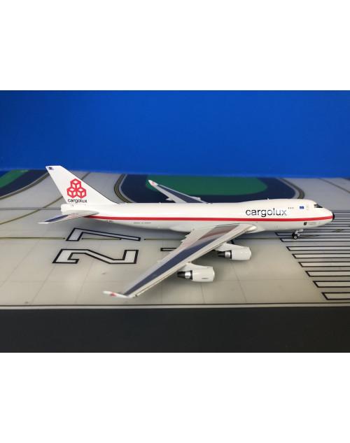 Cargolux Boeing 747-400F LX-NCL Retro 1/400 scale diecast Phoenix Models