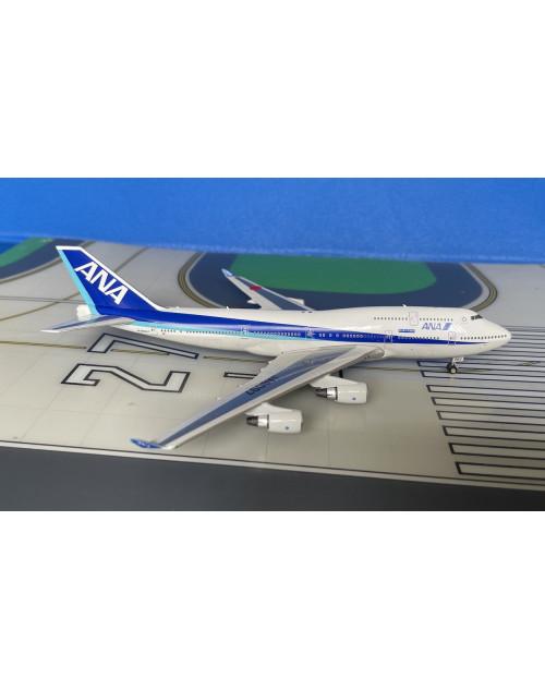ANA All Nippon Boeing 747-400 JA8097 Happy Flight 1/400 scale diecast Phoenix
