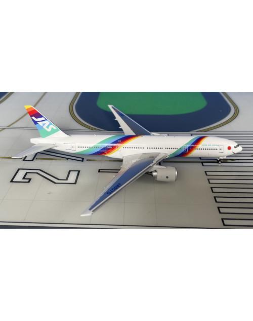JAS-Japan Air System Boeing 777-200  JA007D 1990s 1/400 scale diecast Phoenix