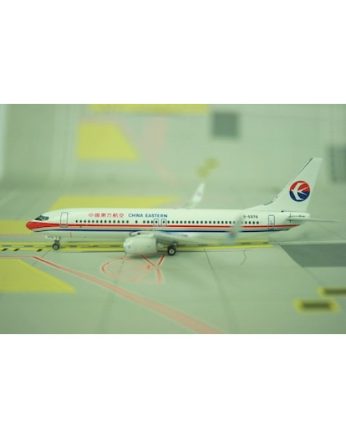 China Eastern Boeing 737-86R B-5376 Winglets 1/400 scale diecast Phoenix Models