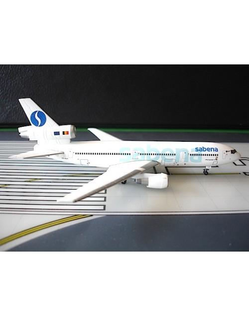 Sabena Douglas DC-10-30 OO-SLH 1990s 1/400 scale diecast Tucano Line